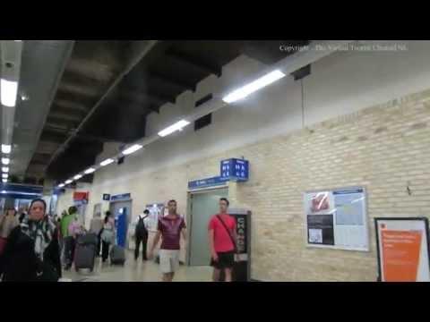 Paddington Overground Station to Paddington Underground Station in London