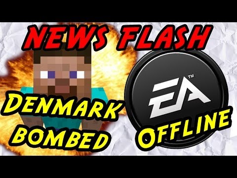 Virtual Denmark gets bombed and EA shuts down 50 games - News Flash