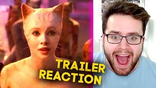 CATS - Official Trailer REACTION! - Taylor Swift, Jennifer Hudson