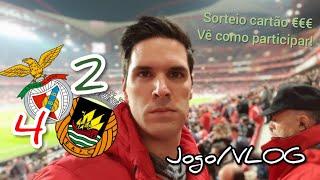 REMONTADA COM 20 ANOS! Benfica 4 x 2 Rio Ave! Jogo/VLOG #sorteio cartão presente