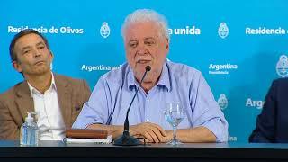 EN VIVO   Coronavirus COVID-19 - Conferencia del ministro de Salud, Ginés González García, y el grup