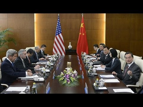 Kerry in China for talks on North Korea