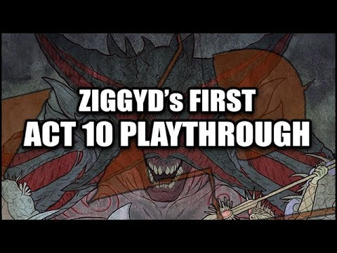 PATH of EXILE 3.0 - ZiggyD's First Act TEN Playthrough! - The Fall of Oriath