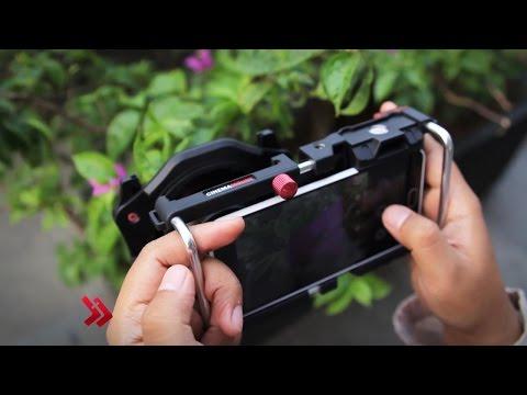 Review Cinema Mount -  Aksesoris Kamera Smartphone untuk Foto dan Video