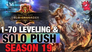 Season 19 Diablo 1-70 & Solo Pushes Barbarian & Crusader Patch 2.6.7