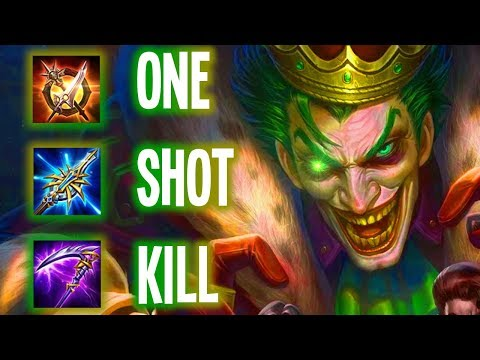 🤡🔫 KILLER ADC WILL HELP YOU WIN! (JOKER 1SHOT BUILD) | Arena of Valor Joker AOV ROV