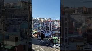 부산 서구 남부민동 풀리페아파트 주차장에서 찍은 뷰