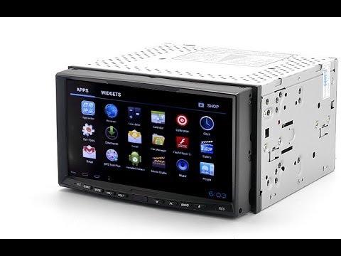 Медиаплеер в авто 2DIN Андроид 4.0, GPS, 3G, WiFi
