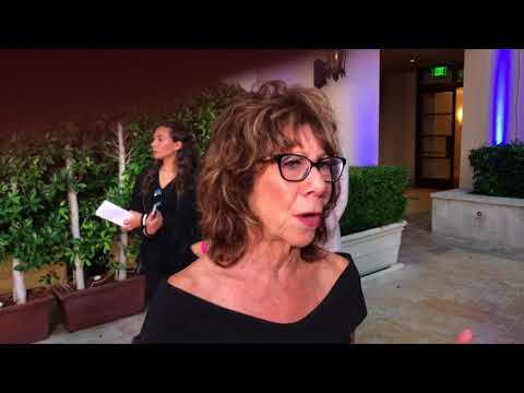 Double nominee Mindy Sterling chats on 2017 Emmy nominee performer reception red carpet