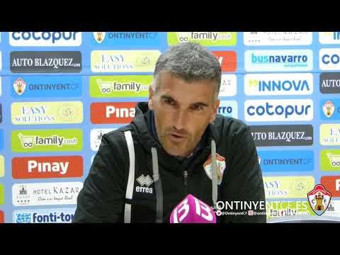 Roda de premsa de Vicente Parras: Ontinyent CF 0 - CD At. Baleares 0