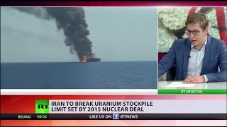 Iran to break uranium stockpile limit set by 2015 nuclear deal