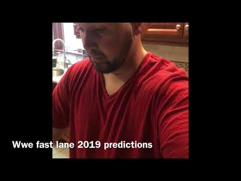 WWE FASTLANE 2019 Predictions /results For Tonight