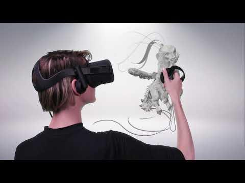 Digital sculpting mit MasterpieceVR 1