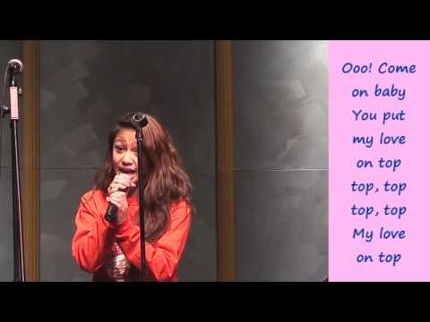 Adriana Latonio Love on Top Video with Lyrics