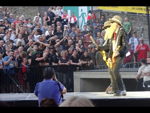 ZZ Top live at Loreley, St. Goarshausen, Germany, 9.7.2017 - 16 Tons