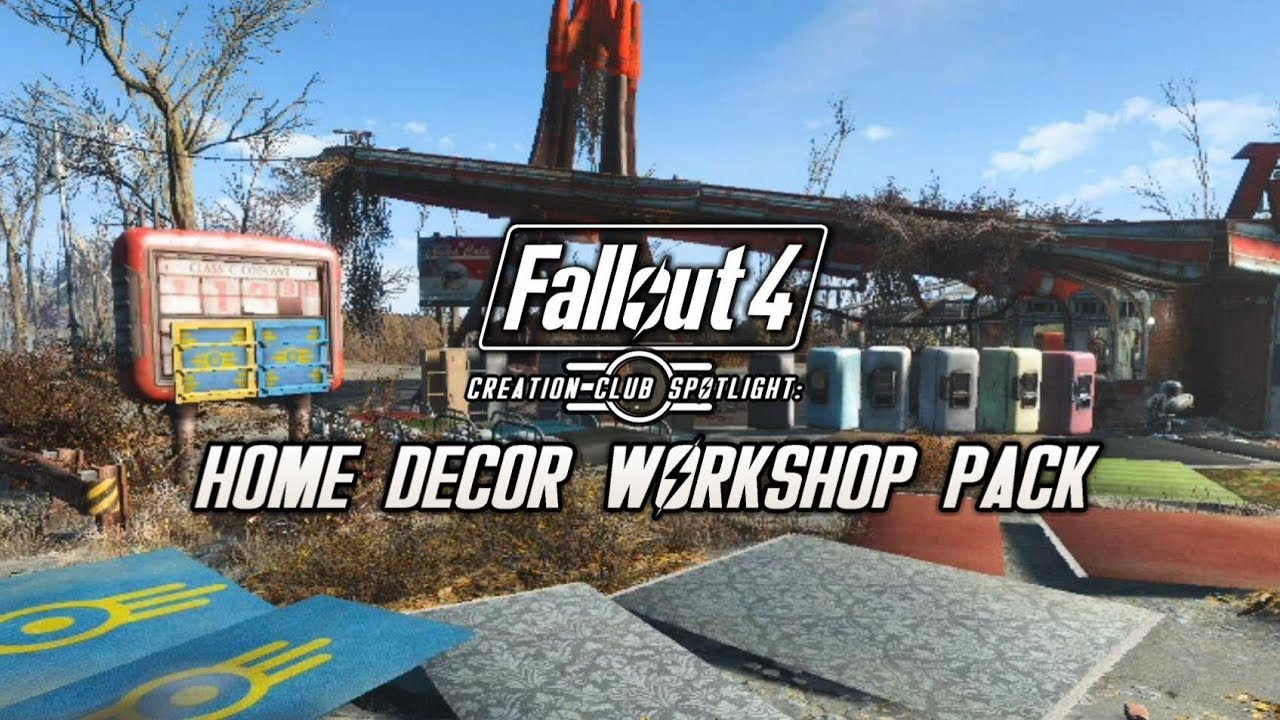 Creation club spotlight elianoras home decor workshop pack fallout 4