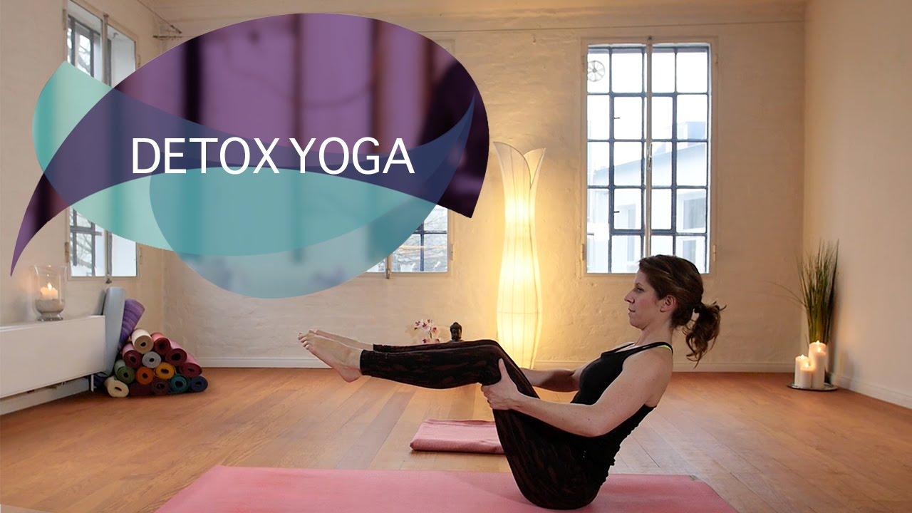 Detox Yoga: Entgiften und Abnehmen // FlexibleFit Yoga