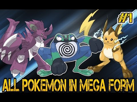 30 Mega Evolutions - Let's Follow The Pokedex #1