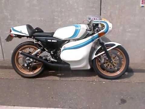 rz350 cafe racer gauloises rd350lc - youtube