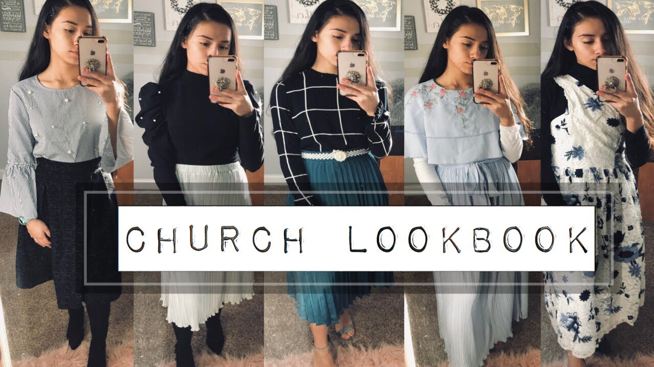 [VIDEO] - CHURCH MODEST LOOKBOOK ♕ |Modest Outfits for church 1