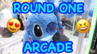 ROUND ONE ARCADE IN ODAIBA JAPAN!!!