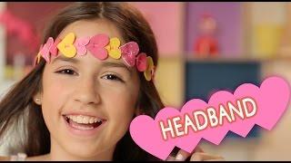 fazendo uma headband com bianca paiva mundo da menina