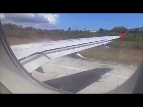 Manila To Tagbilaran: Full Flight Airasia Zest A320 (RP-C8997) (720p)