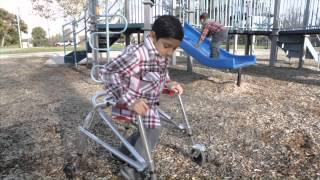 Jeffrey's Hope ' To One Play In The Playground With His Little Brother Joey