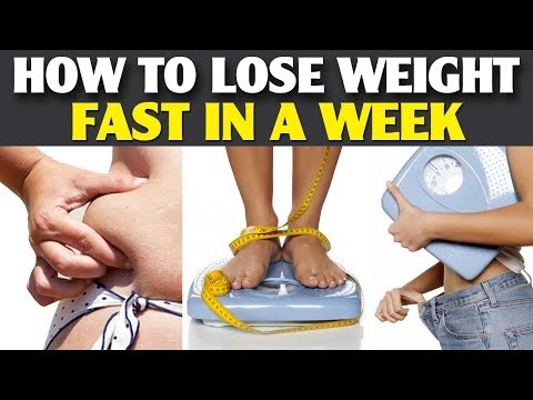 How to Lose Weight Fast in a Week | How to lose Weight Fast For Teenagers