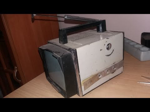 Палладій, платина і золото в радянському телевізорі Электроника