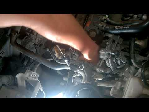 Фото к видео: Демонтаж и чистка ЕГР Opel Z14XEP