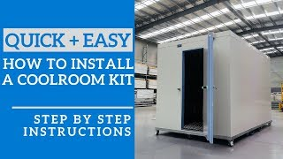 How to install your DIY CoolRoom Kit – Step-by-Step Guide