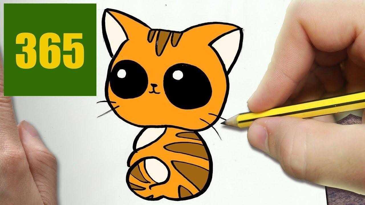 Come Disegnare Gatto Kawaii Passo Dopo Passo Disegni Kawaii
