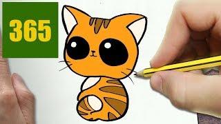 Video Come Disegnare Gatto Kawaii Passo Dopo Passo Disegni Kawaii