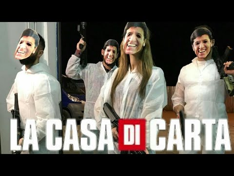La casa di carta parodia youtube for Quando esce la casa di carta 3
