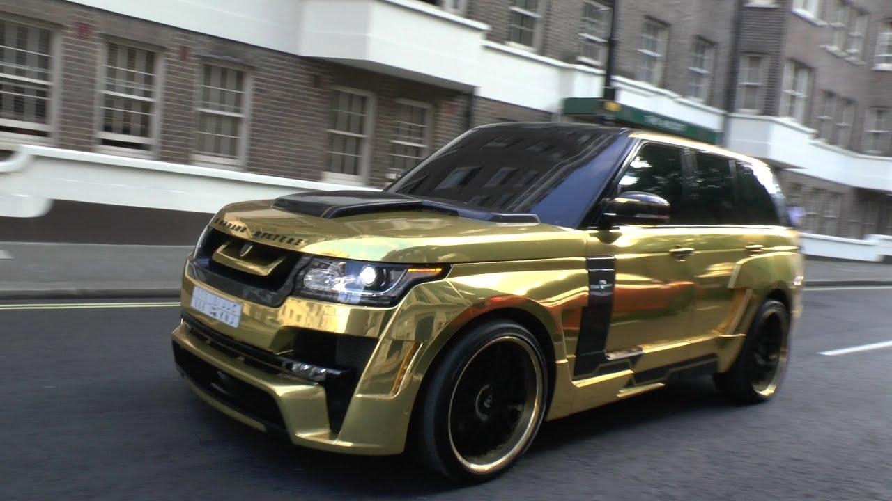 PIMPED Hamann Range Rover in London