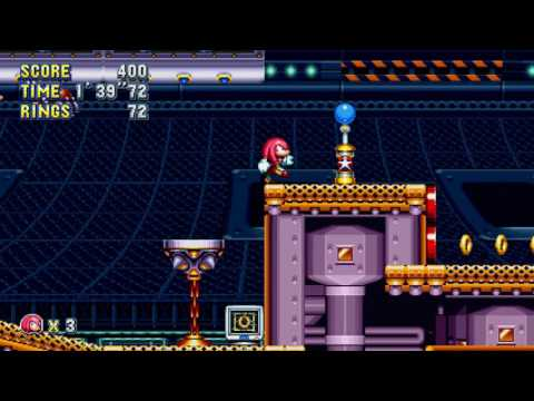 Sonic Mania's latest trailer puts Knuckles back in Flying Battery Zone