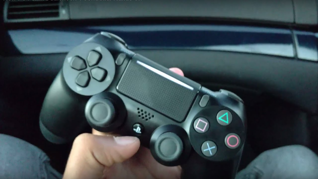 PS4 Slim's new DualShock 4 controller has two lightbars?