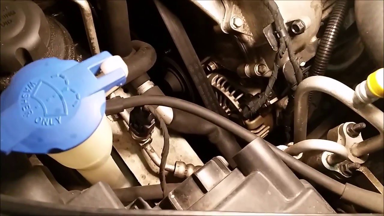 diy replace alternator on hyundai sonata 3 3l v6 2006 2009 for less than 150 youtube [ 1280 x 720 Pixel ]