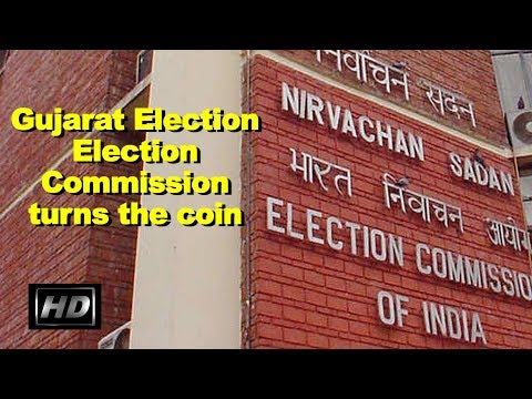 IAAN NEWS - Election Commission turns up the coin in the air : Gujarat Elections