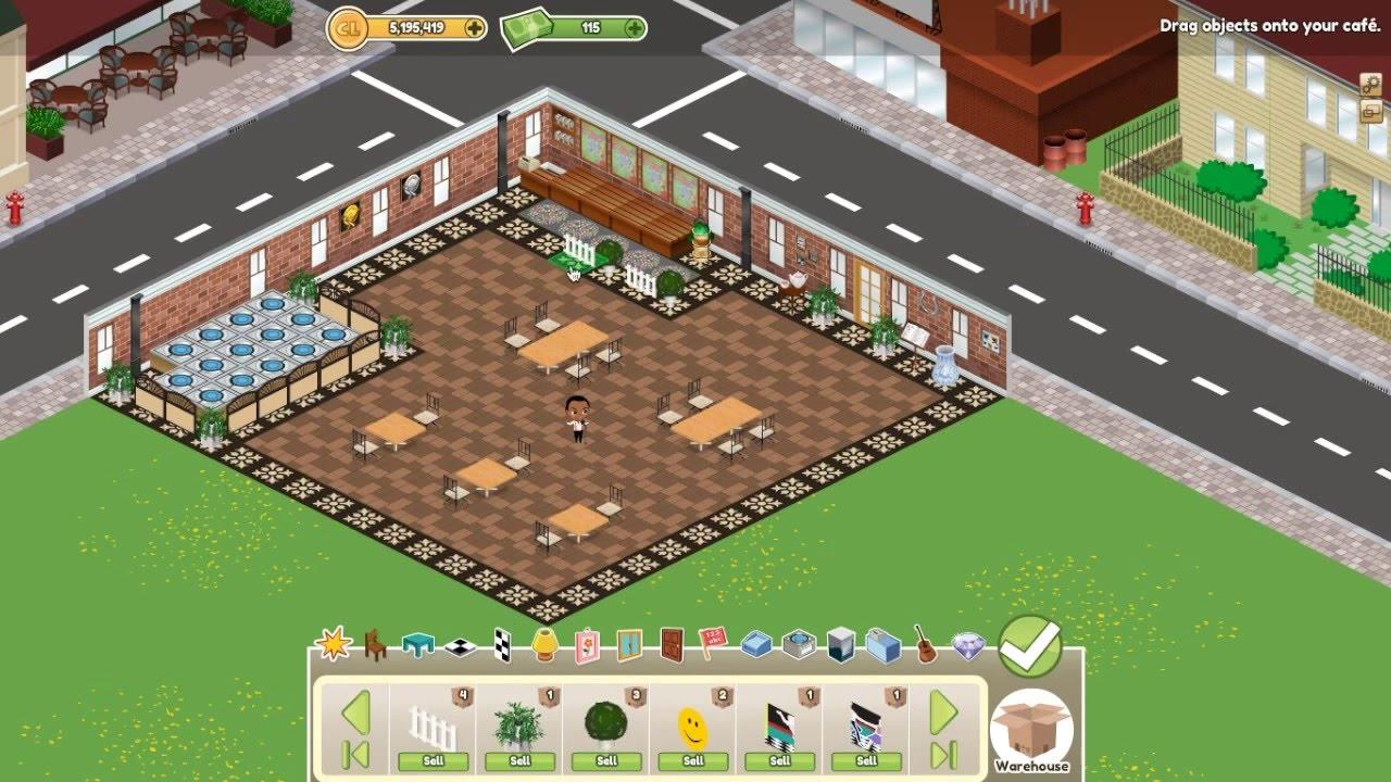 Designing My Cafeland Café!