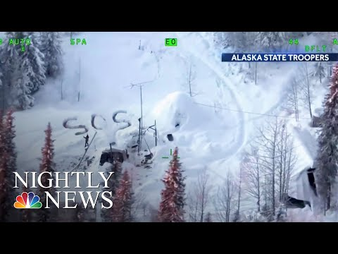 Alaska Man Rescued After More Than 20 Days Stranded In The Wilderness | NBC Nightly News