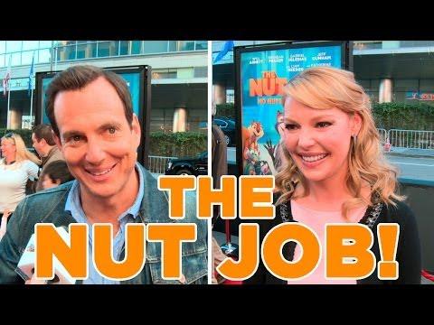 Will Arnett & Katherine Heigl Get Nutty about The Nut Job