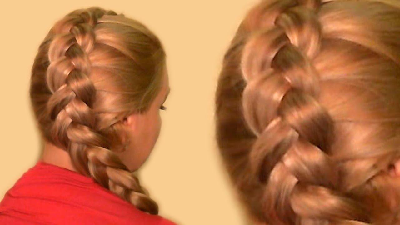 Как сделать французскую косу видео фото 660