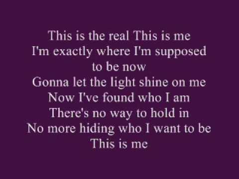 Camp Rock - This Is Me [ with Lyrics ] - YouTube