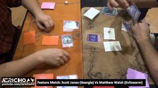 YuGiOh Nationals 2014 Australia Feature Match - Scott Jones (Geargia) Vs Matthew Walsh (Evilswarm)