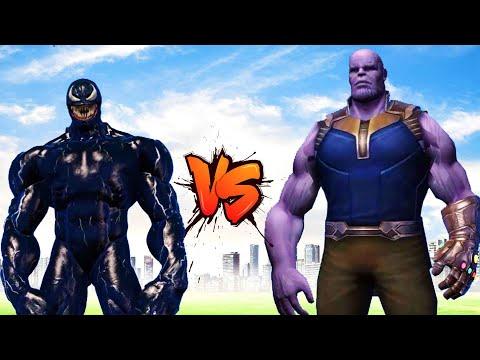 Venom & Hulk VS Thanos Epic Battle | Grand Theft Auto V thumbnail