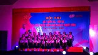 Trương TH Hồ Văn Nhánh- hội thi hát Quốc Ca, Đội Ca- Đội Ca