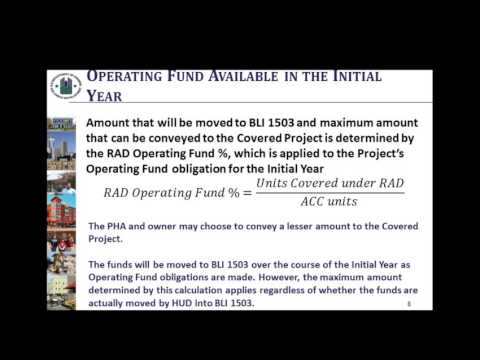2016 07 13 15 05 RAD Live Q A   Initial Year Funding Tool