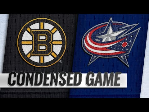 03/12/19 Condensed Game: Bruins @ Blue Jackets